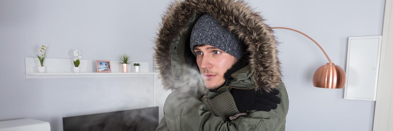 Argh! Boiler broken – coldest night of the year SHOCKER!